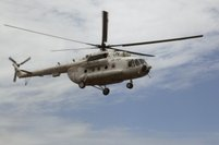 Three Company helicopters started their operations in the Southern Sudan